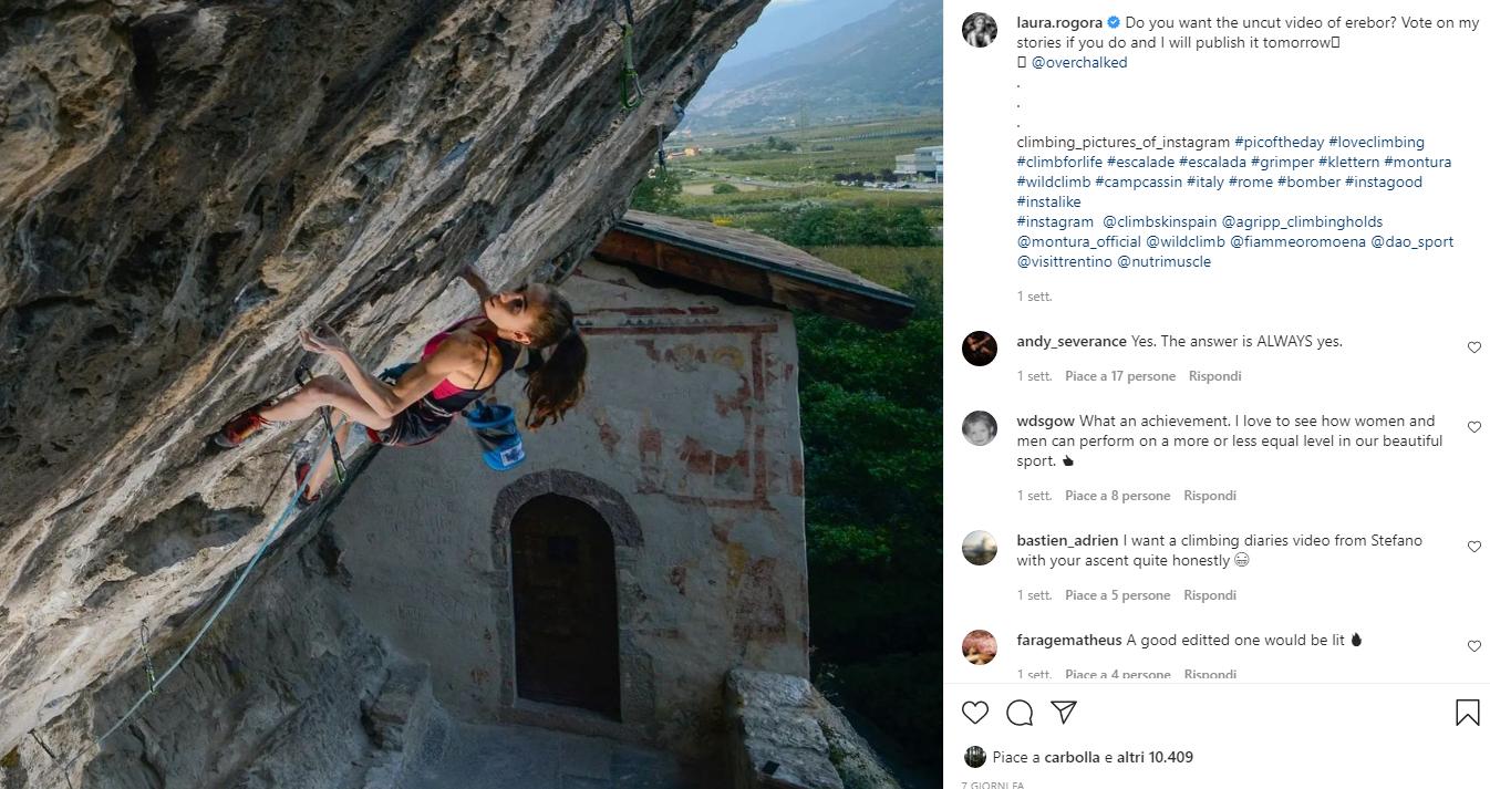 laura Rogora Instagram