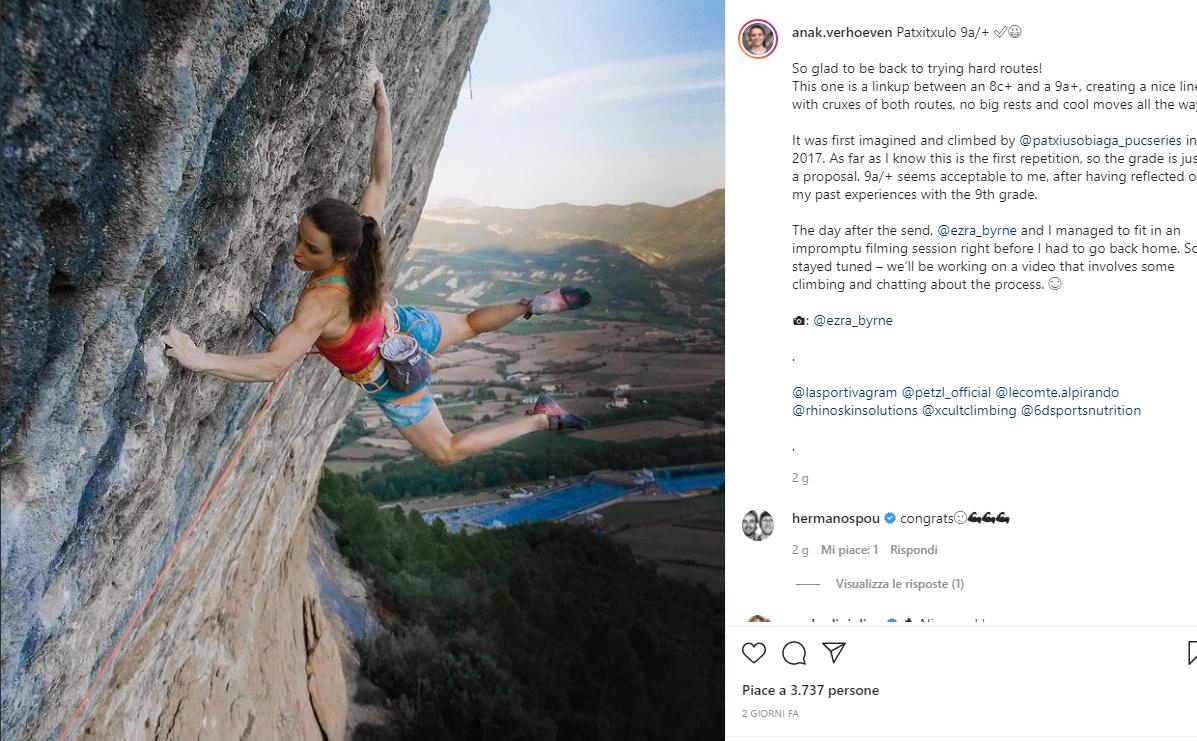Anak Verhoeven Instagram