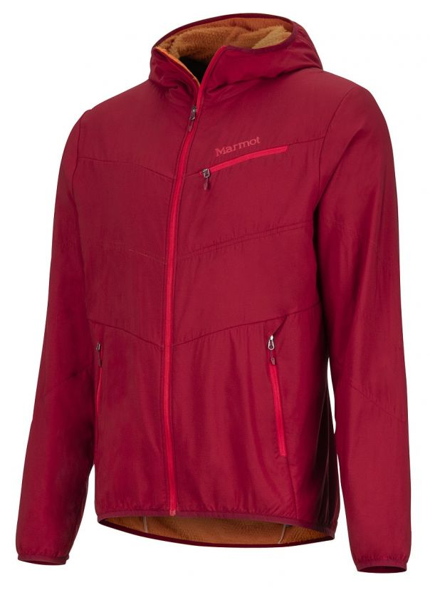 Isolante Leggera per Escursionismo Marmot Alpha 60 Jacket Giacca A Vento Idrorepellente Antivento Uomo Calda Esterno