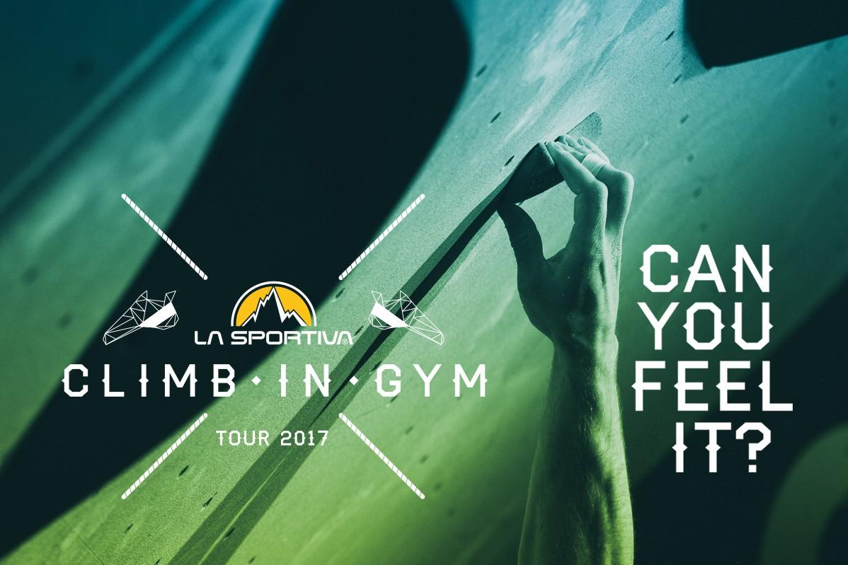 climb in gym